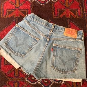 Levi's Shorts - ‼️$20 SALE‼️ VTG Studded Levi's 501 Denim Cutoffs